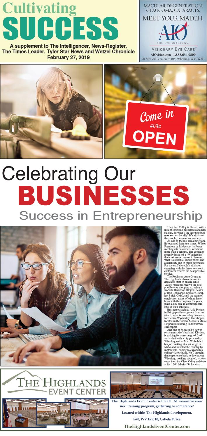 Cultivating Success in Business -- Progress 2019 by John