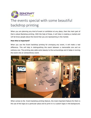Exhibition Booth Design Singapore : Exhibition booth singapore by zigncrafts issuu