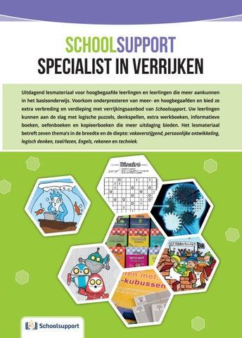 Schoolsupport Catalogus Verrijken 2019 By Ars Scribendi