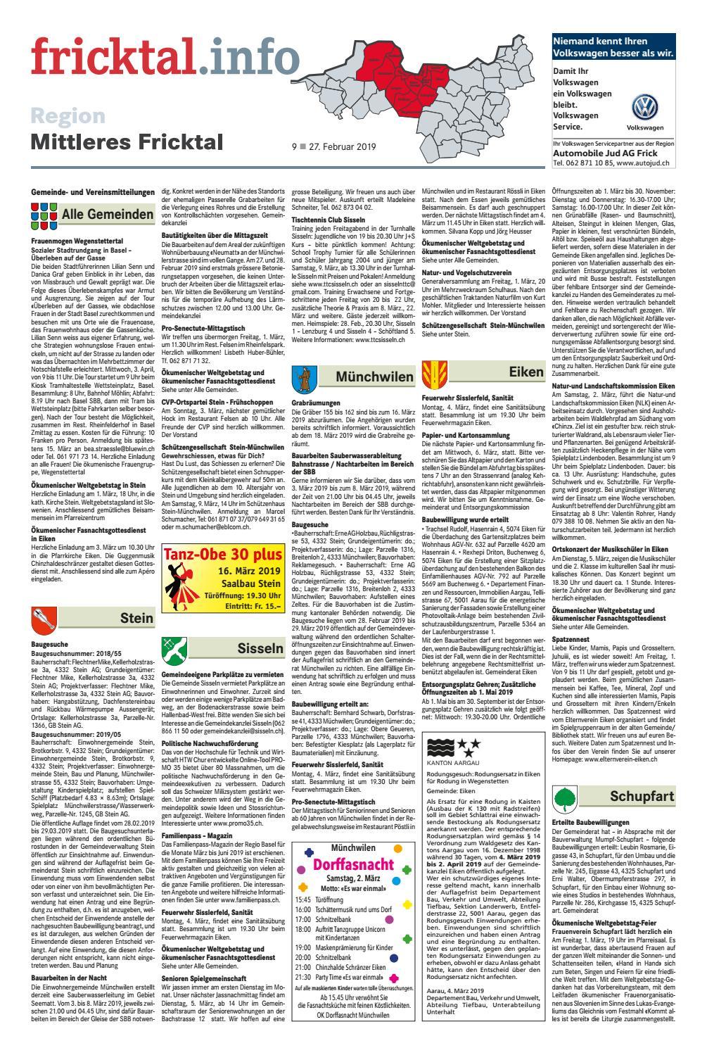 Wochenende-Jobs in Eiken, AG - Mai 2020   mallokat.com