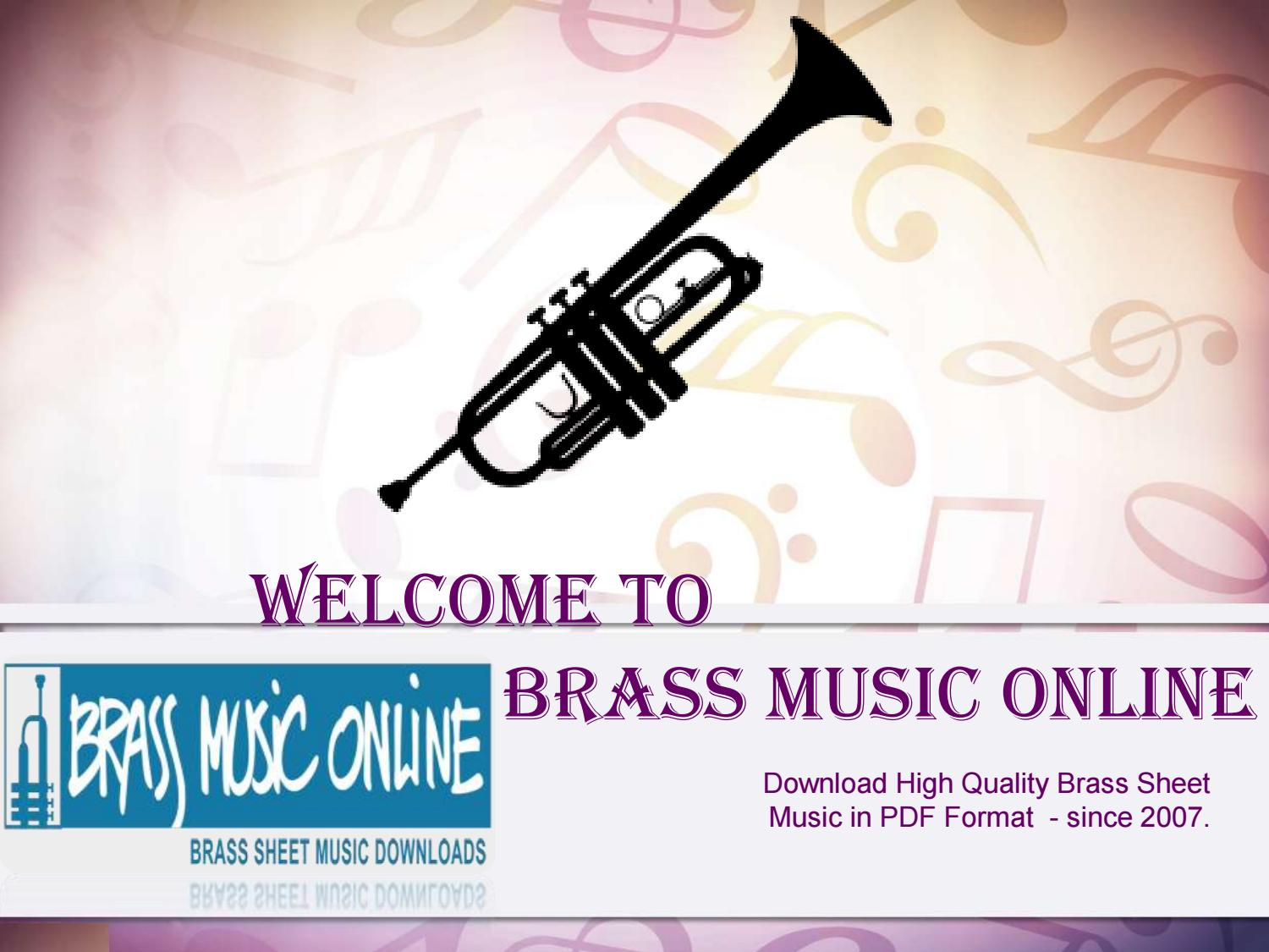 Sheet Music for Brass Band by brassmusiconline1 - issuu