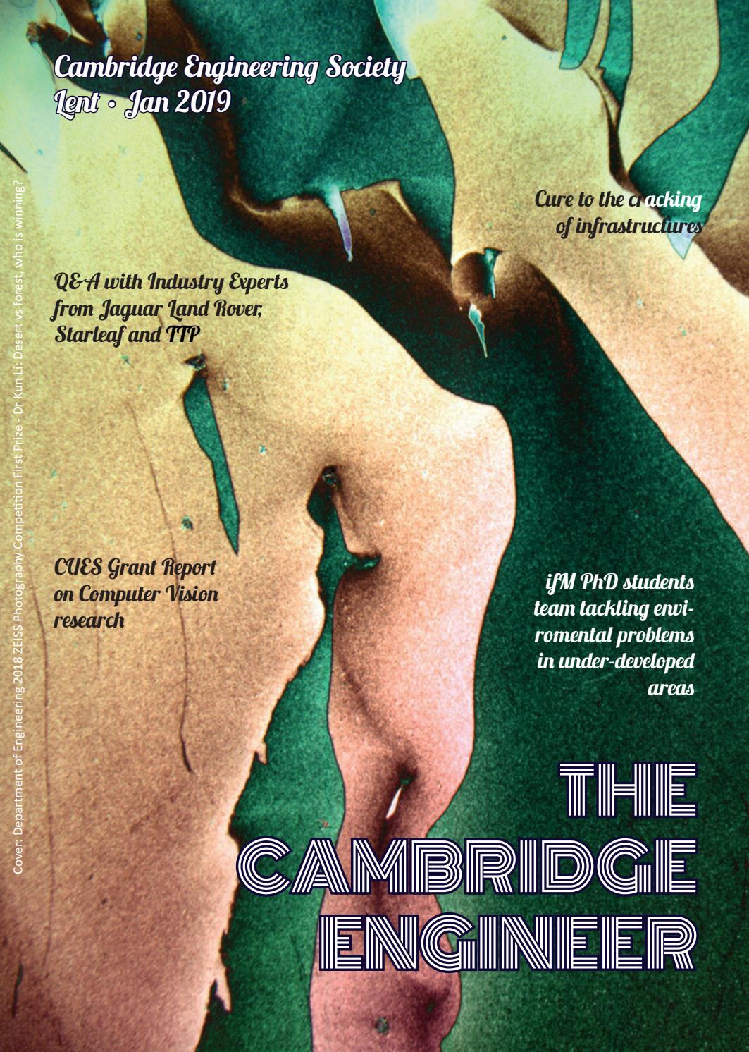 The Cambridge Engineer: Lent Edition 2019 by The Cambridge