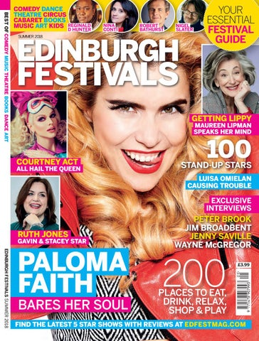 0a454dd4cf3 Edinburgh Festivals Magazine 2018 by Media Company Publications Ltd ...