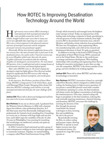 Page 29 of How ROTEC is Improving Desalination Technology Around the World