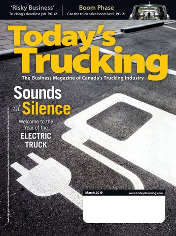 Today's Trucking March 2019 by Annex Business Media - issuu