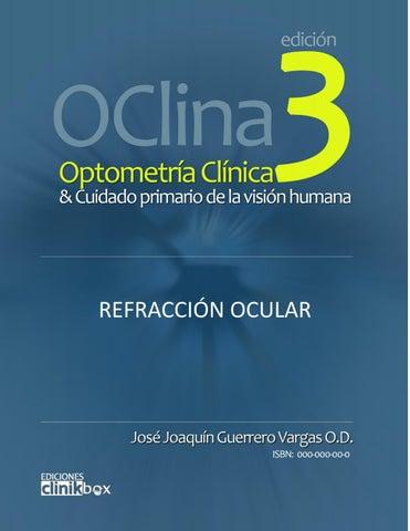 ab647bfe49 Optometría Clínica 3 - Refracción ocular by Joaquín Guerrero Vargas ...