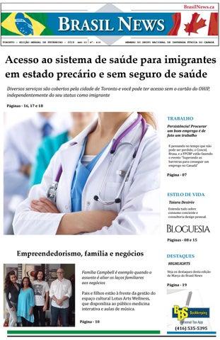 cd1b0664a4 Brasil News edição de Fevereiro 2019 by Portal Brasil News - issuu