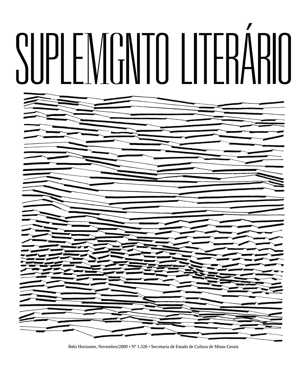 90f7c1c88 Suplemento Literário de MG número 1326 by Suplemento Literário de Minas  Gerais - issuu