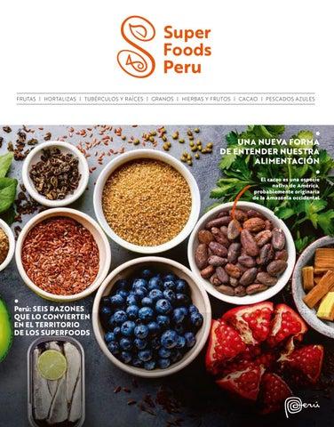 5f610392da1c Catálogo Superfoods Peru by PROMPERÚ Exportaciones - issuu