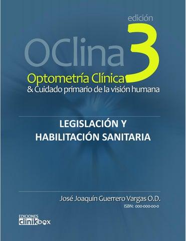 b23544745c Optometría Clínica 3 - Legislación y Habilitación by Joaquín ...