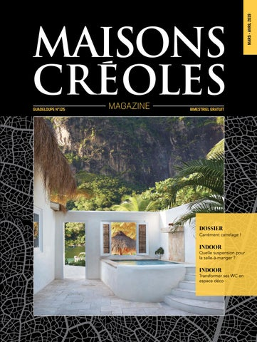Magazine Maisons Créoles N125 Guadeloupe By Magazine