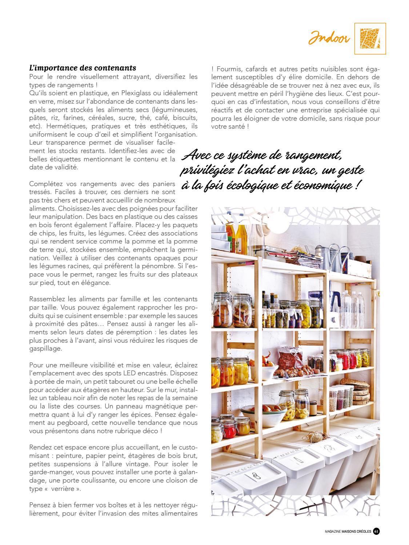 Que Mettre Dans Un Garde Manger magazine maisons créoles n°125 guadeloupemagazine