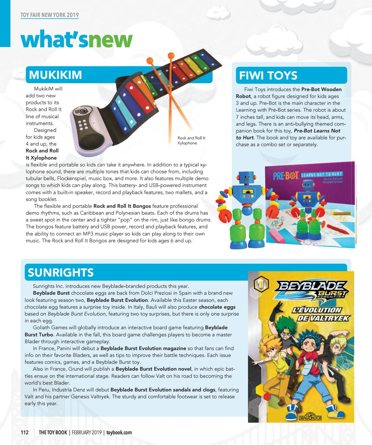 February 2019 by The Toy Book - issuu