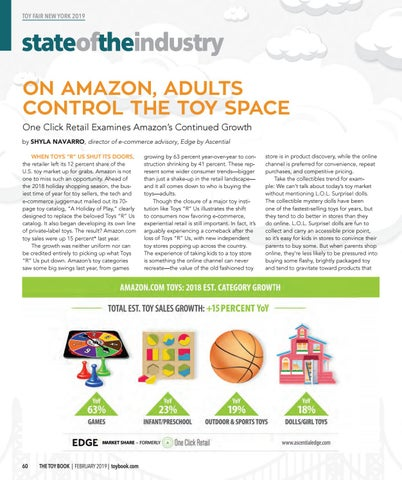 Page 60 of ON AMAZON, ADULTS CONTROL THE TOY SPACE