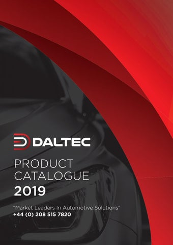 DALTEC 2019 Catalogue by DALTEC - issuu