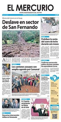 c86688a90af2 El Mercurio-26-02-2019 by Diario El Mercurio Cuenca - issuu