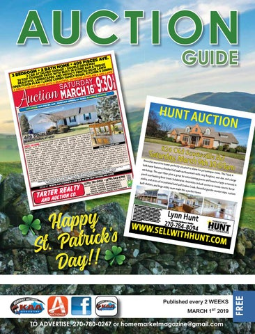 March 1, 2019 Auction Guide by Home Market Magazine - issuu