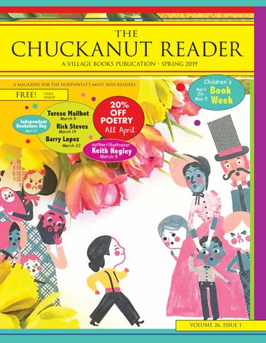 Chuckanut Reader – Spring 2019 by Village Books and Paper Dreams - issuu