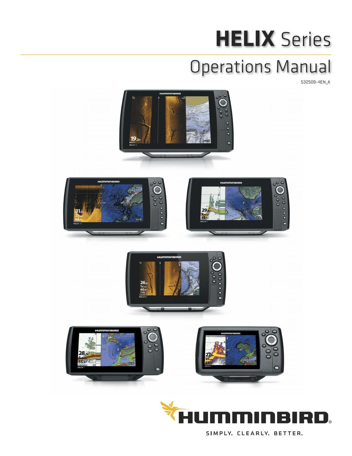 Humminbird Helix product manual 2109 (ENG) by Normark Suomi
