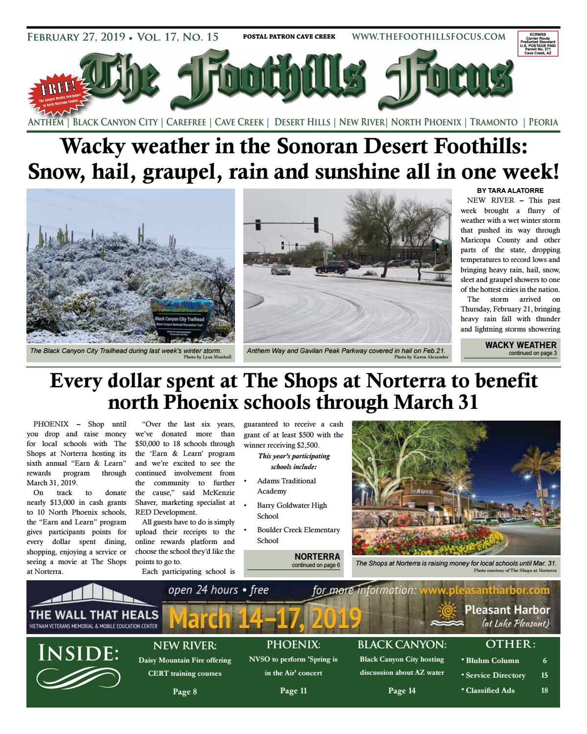 Foothills Focus 2 27 19 Issue By The Foothills Focus Issuu