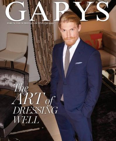 45d9944c1 GARYS FORUM/THE SUBSTANCE OF STYLE/SS 2019 SS 2019 FORUM / THE SUBSTANCE OF  STYLE THE ART OF DRESSING WELL GARYSONLINE.COM GARY.ss19.cover.indd 1