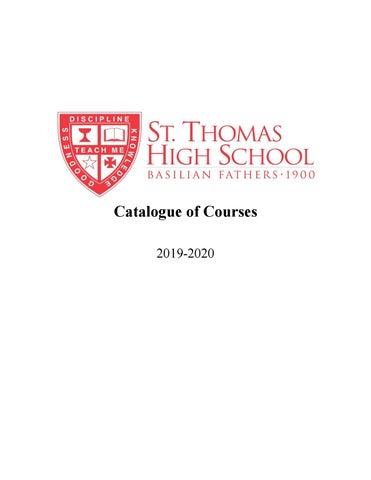 2019-2020 Course Catalog by STHCatholic - issuu