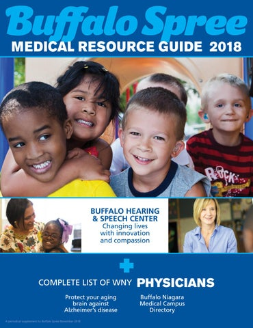 Medical Resource Guide 2018 by Buffalo Spree - issuu