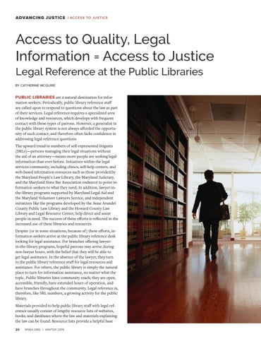 Page 22 of Access to Quality, Legal Information = Access to Justice