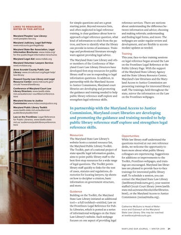 Page 23 of Access to Quality, Legal Information = Access to Justice