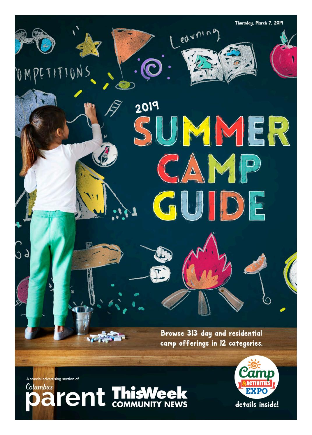 2019 Summer Camp Guide and Activities Expo by The Columbus