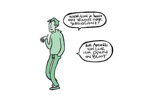 Cartoon beeld van seks