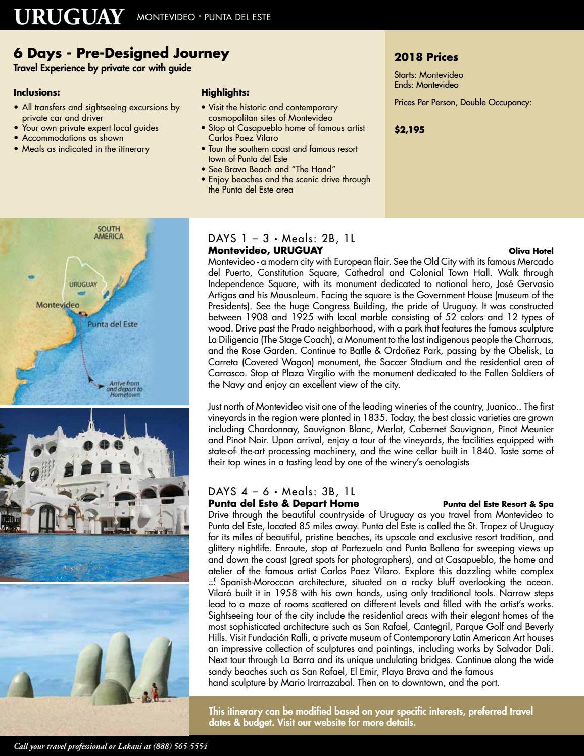Uruguay - Terms - 2019 by Lakani World Tours - issuu