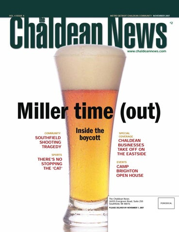 Chaldean News - November 2007 by The Chaldean News - issuu