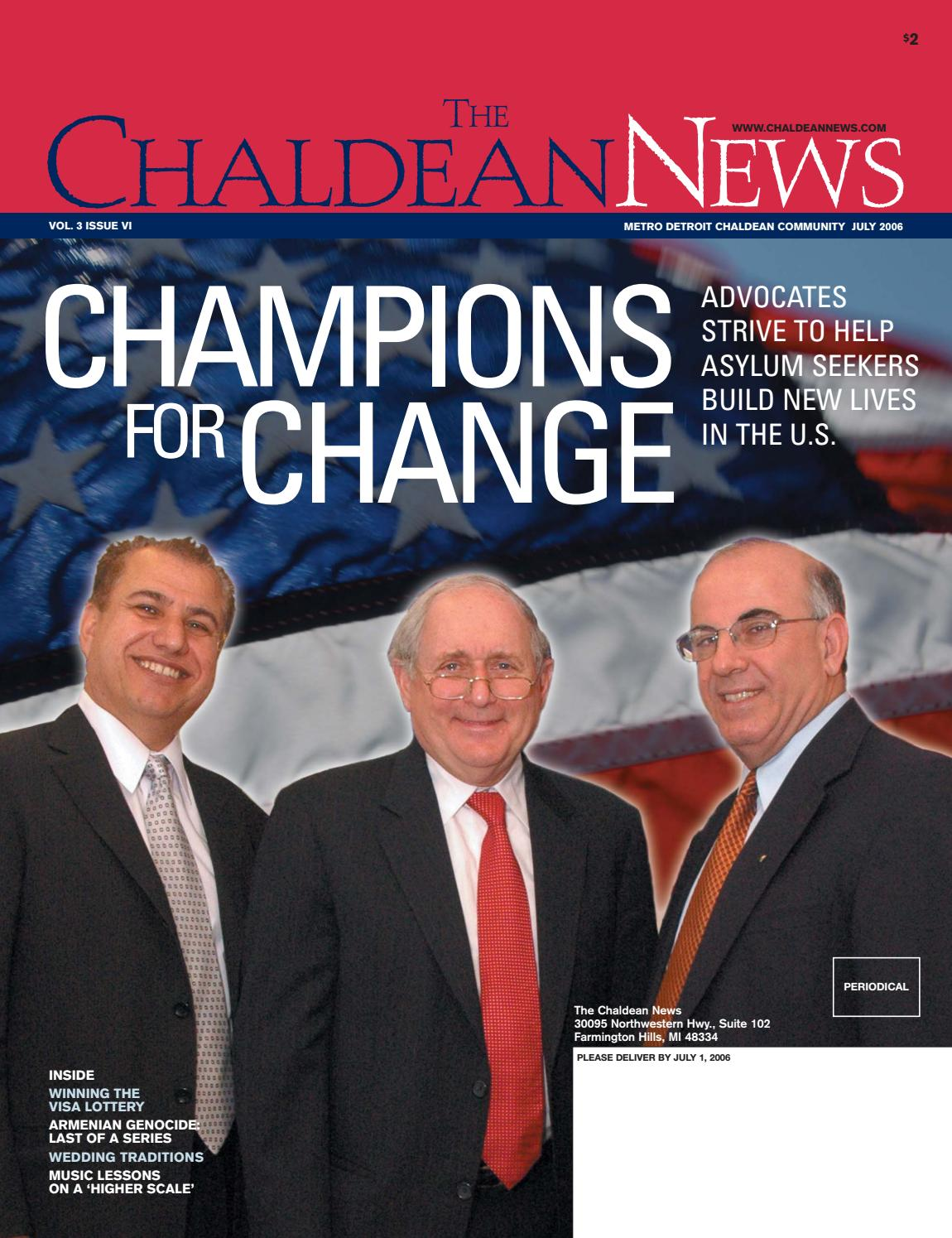 Chaldean News - July 2006 by The Chaldean News - issuu