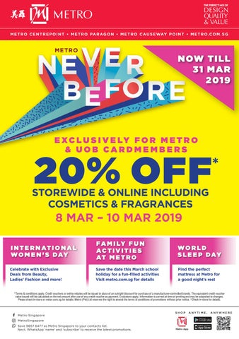 64606a1153d9 Metro Never Before! Till 31 March 2019 by Metrosingapore - issuu