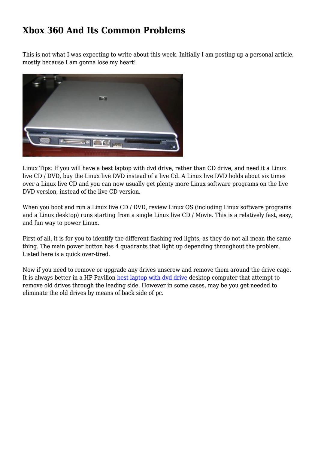 Xbox 360 And Its Common Problems by onegadgetgreat - issuu