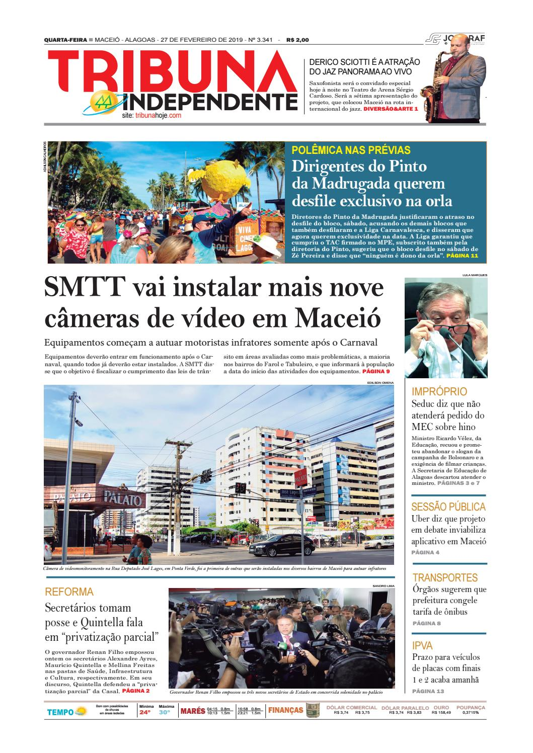 103a92575968d Edição número 3341 - 27 de fevereiro de 2019 by Tribuna Hoje - issuu