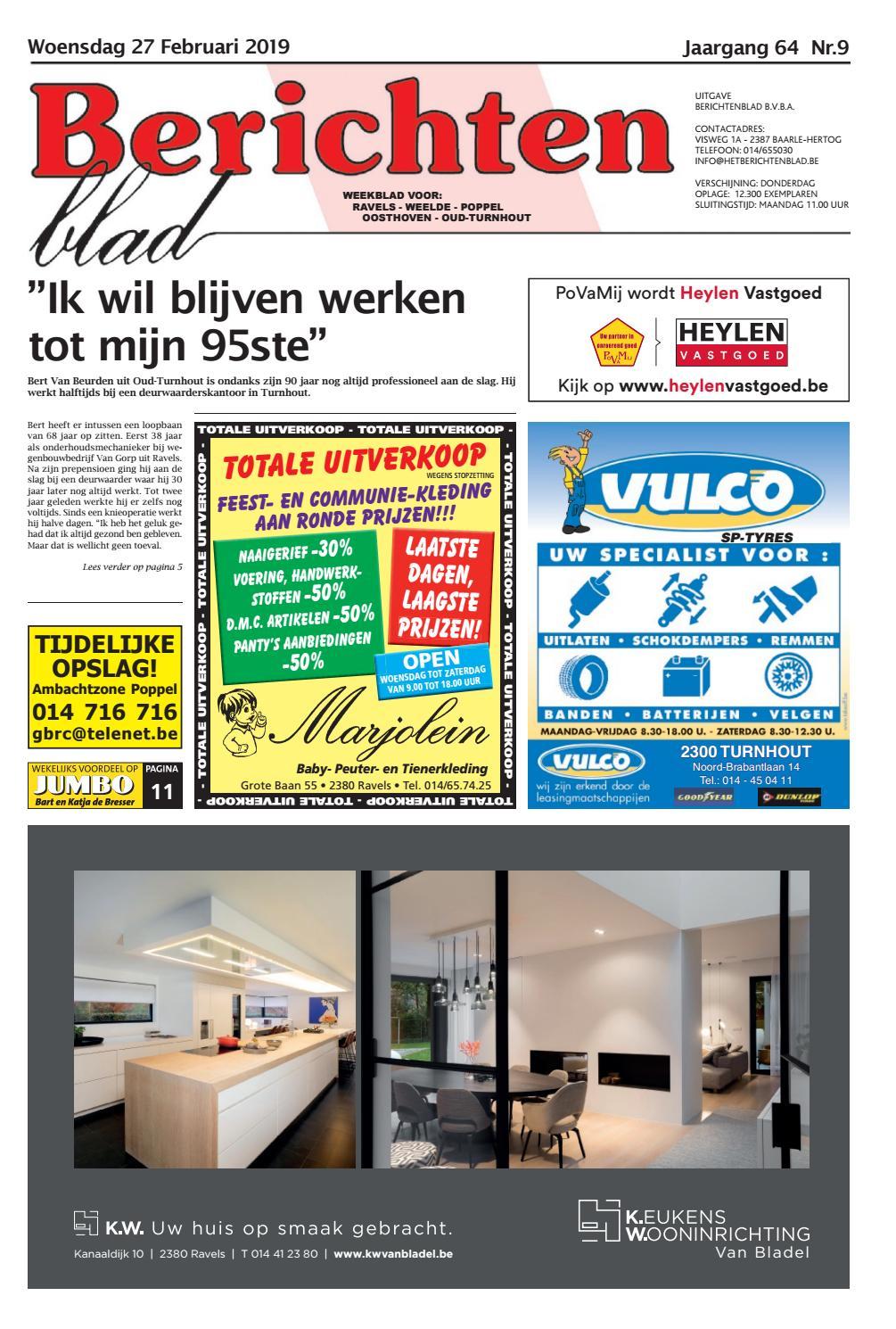 87f49bfaed6 Berichtenblad 27-02-2019 by Uitgeverij Em de Jong - issuu