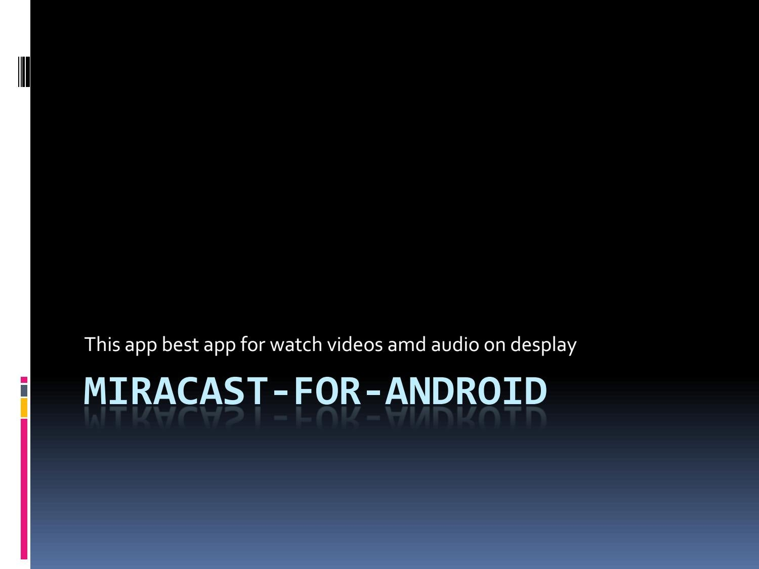 windows miracast app