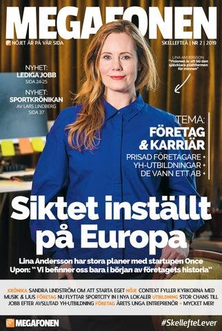 Megafonentidningen nr 2 2019 by Megafonen Skellefteå - issuu 9306e8e8be0ff