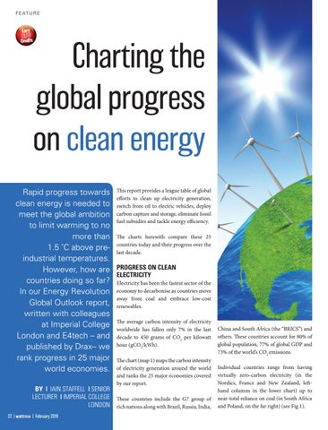 Page 22 of Charting the global progress on clean energy