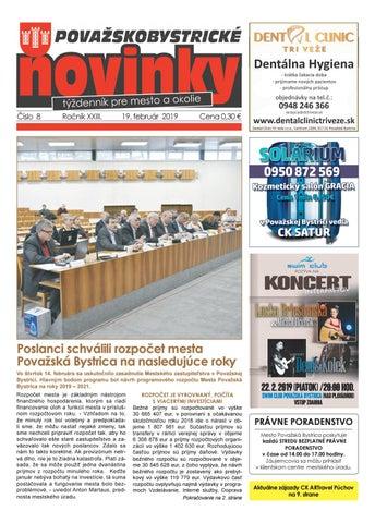 b71dcdc31 Považskobystrické novinky č. 8/2019 by Považskobystrické novinky - issuu