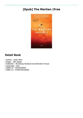the martian pdf free download