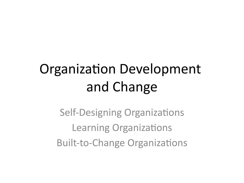 Organization Development And Change By Azalia Izha Issuu