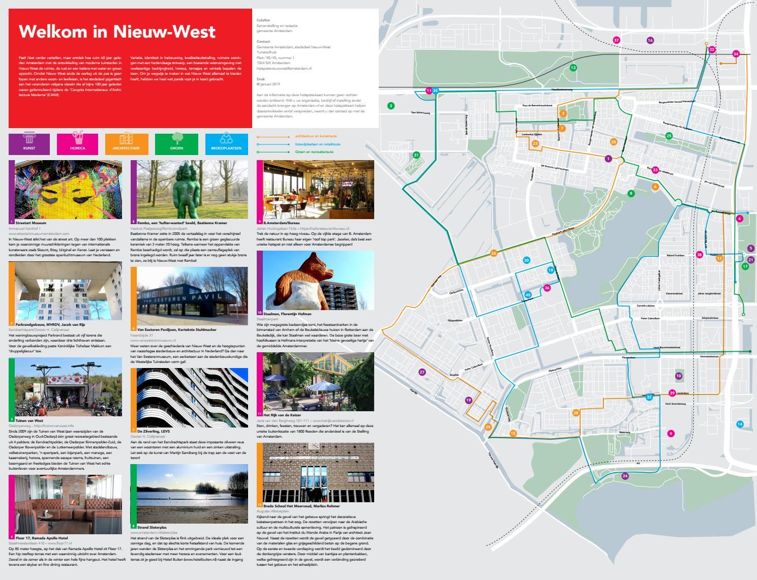De Tuinen Van West Amsterdam.2019 Hotspotkaart Amsterdam Nieuw West 40 Toffe Locaties By Rene