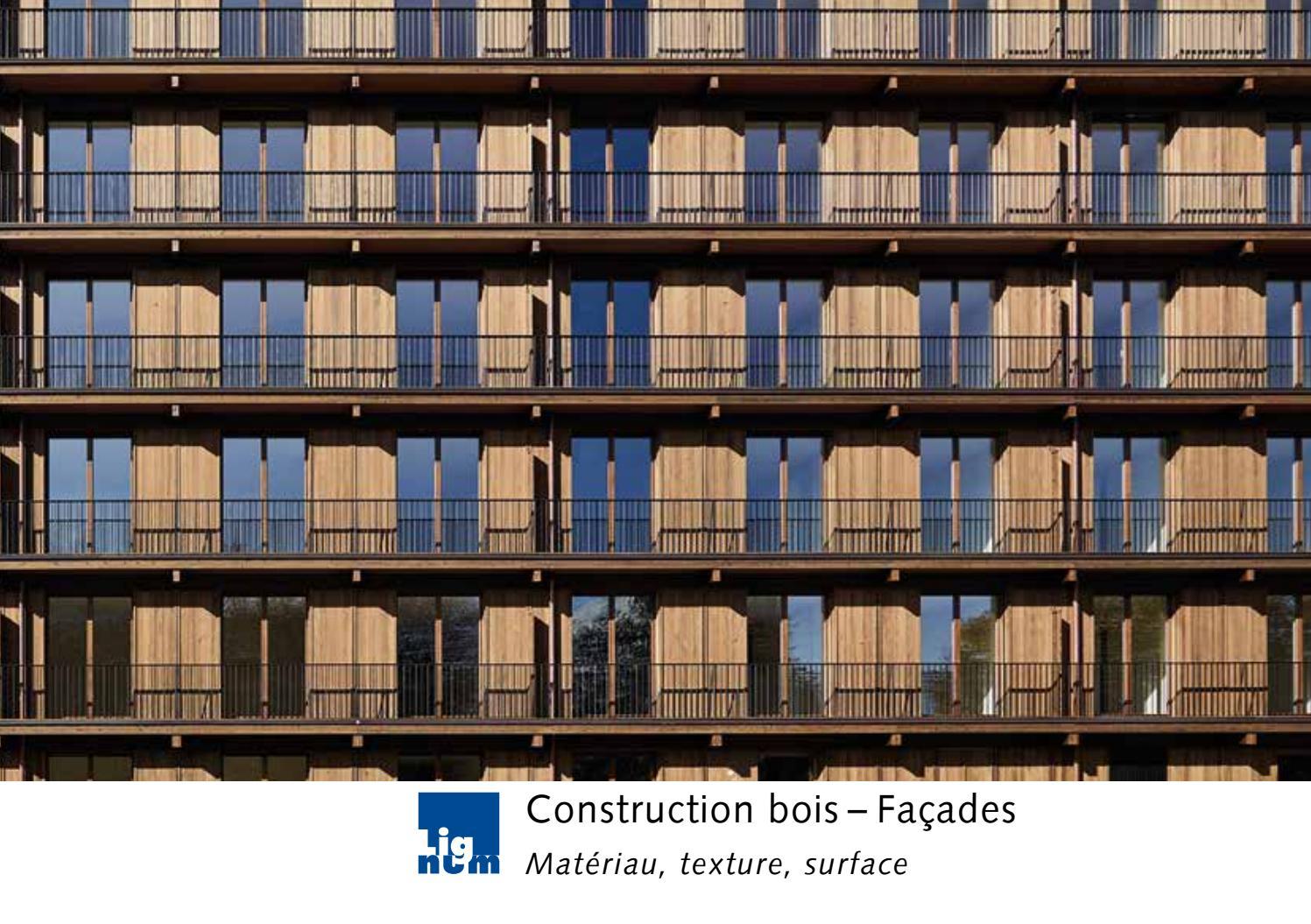 Paris Materiaux Villeneuve La Garenne construction bois – façades - matériau, texture, surface