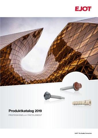 Splitter nya EJOT Produktkatalog 2019 by ejotsverige - issuu WG-46