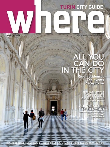 Where Turin 6 March 2019 by Where Italia - issuu 7a8339c2bd9