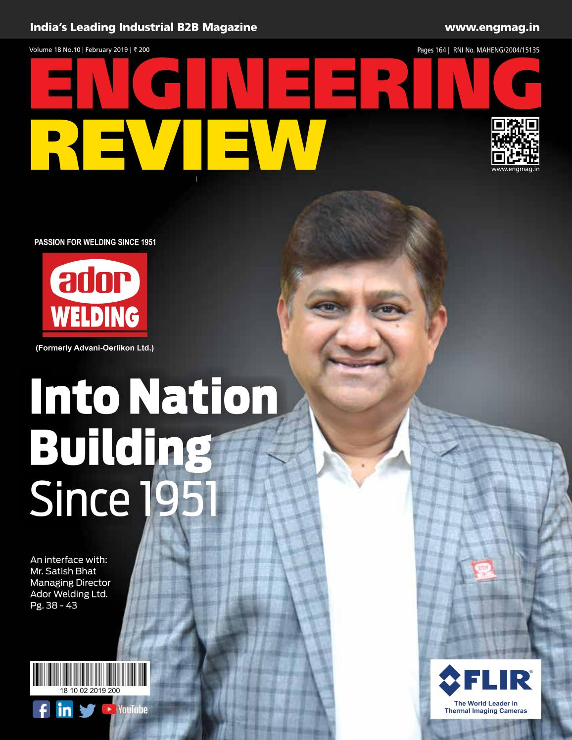ENGINEERING REVIEW - FEBRUARY 2019 by Divya Media