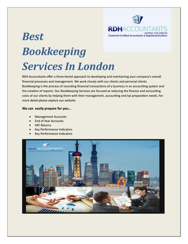 personal bookkeeping services